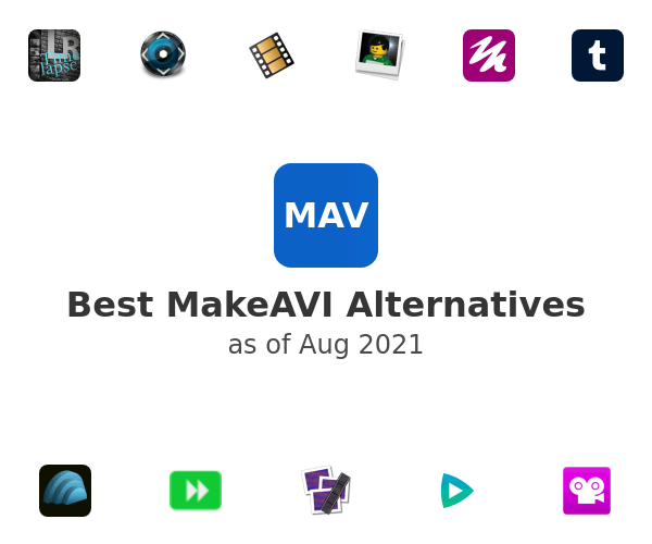 Best MakeAVI Alternatives