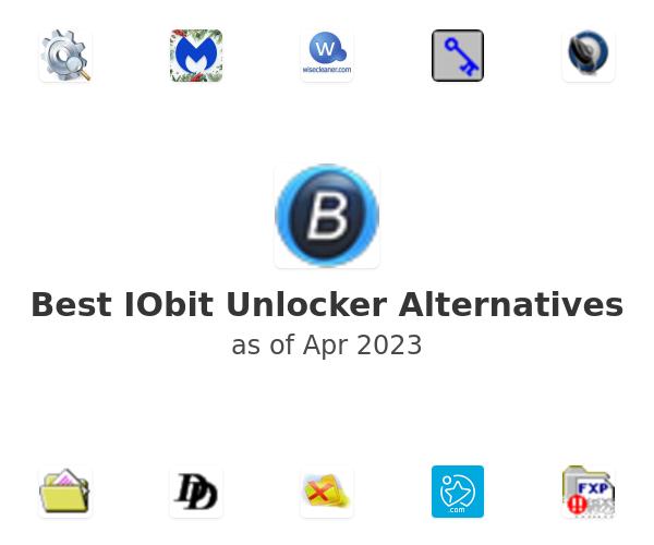 Best IObit Unlocker Alternatives