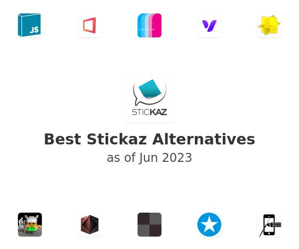 Best Stickaz Alternatives