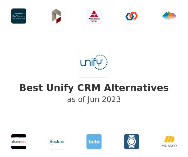 Best Unify CRM Alternatives
