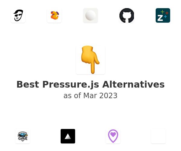 Best Pressure.js Alternatives