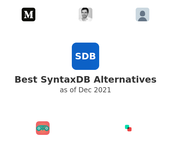 Best SyntaxDB Alternatives