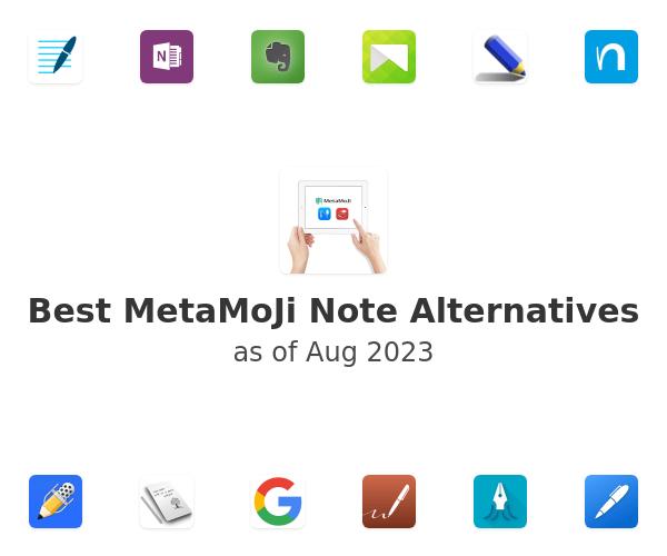 Best MetaMoJi Note Alternatives