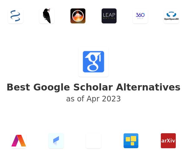 Best Google Scholar Alternatives
