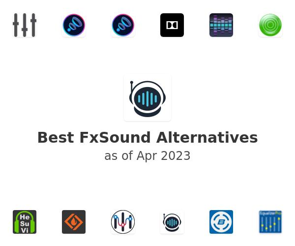 Best FxSound Enhancer Alternatives