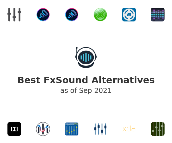 Best FxSound Alternatives