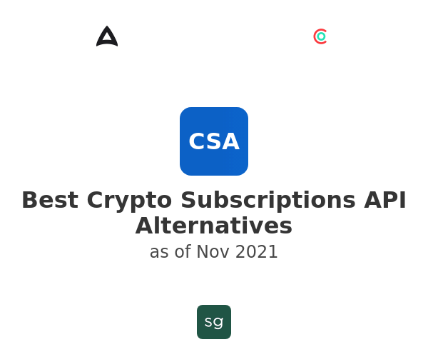 Best Crypto Subscriptions API Alternatives
