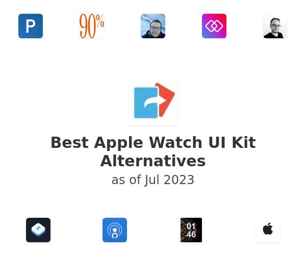 Best Apple Watch UI Kit Alternatives