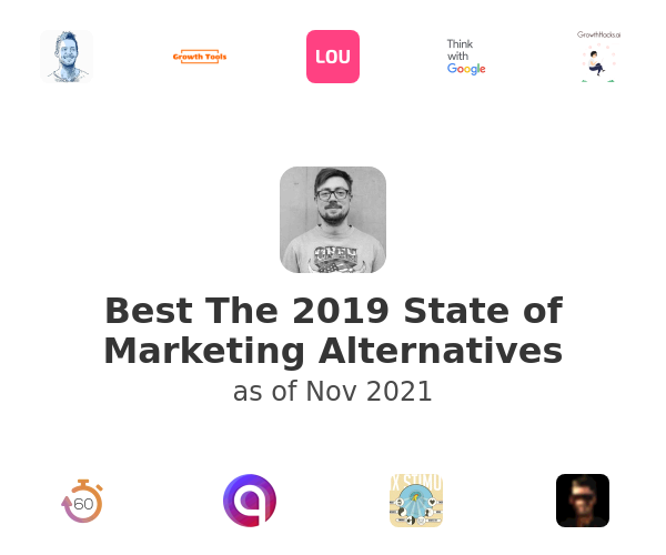 Best The 2019 State of Marketing Alternatives