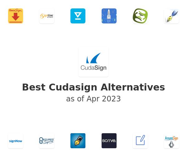 Best Cudasign Alternatives