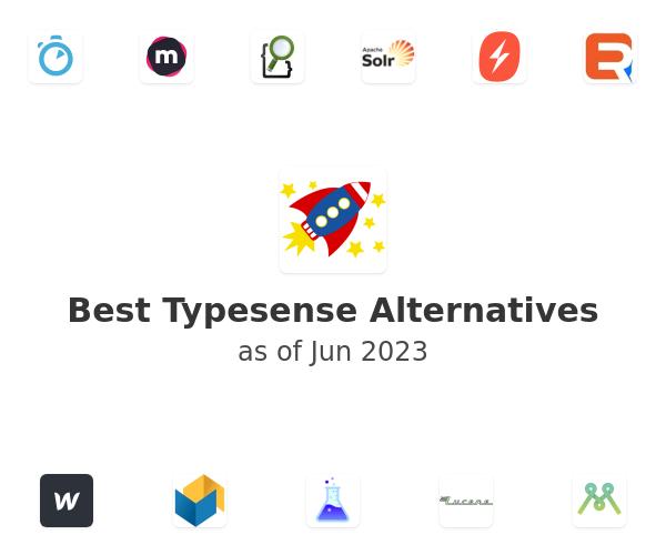 Best Typesense Alternatives