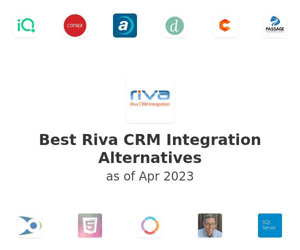 Best Riva CRM Integration Alternatives