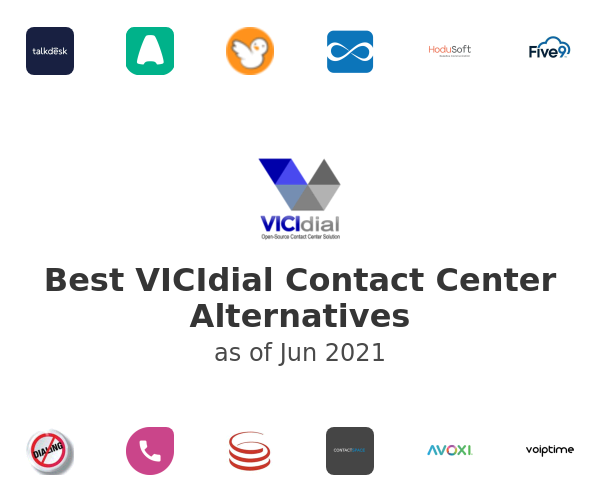 Best VICIdial Contact Center Alternatives