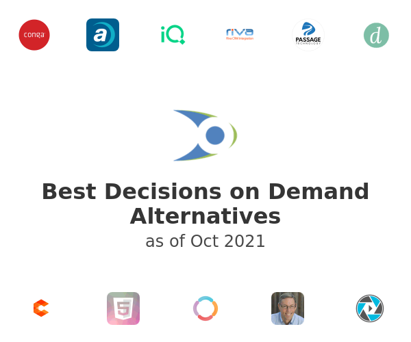 Best Decisions on Demand Alternatives