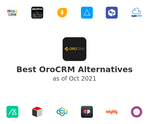 Best OroCRM Alternatives