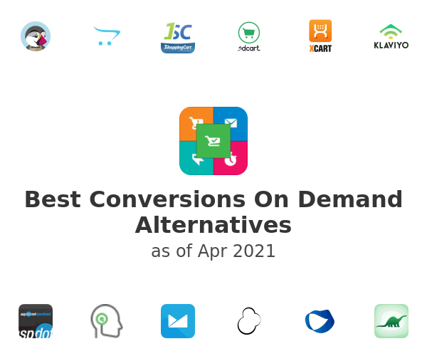 Best Conversions On Demand Alternatives