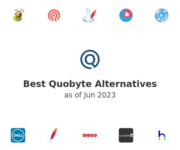 Best Quobyte Alternatives