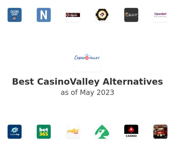 Best CasinoValley Alternatives