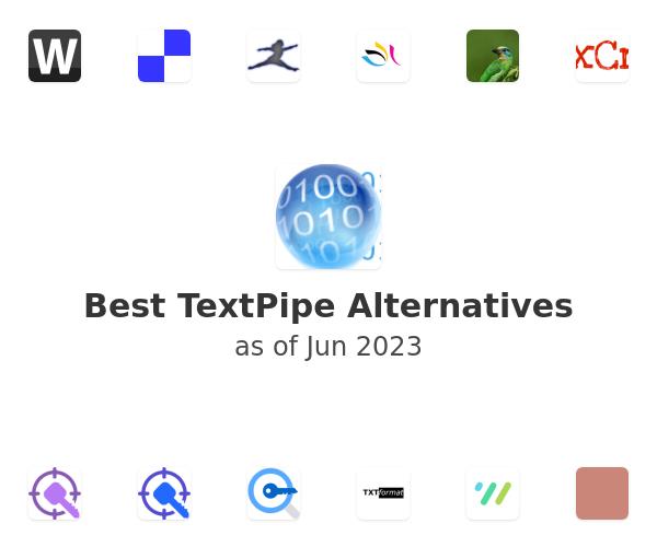 Best TextPipe Alternatives