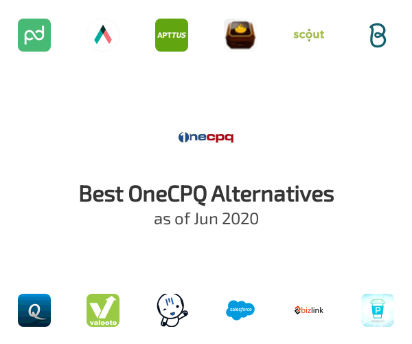 Best OneCPQ Alternatives