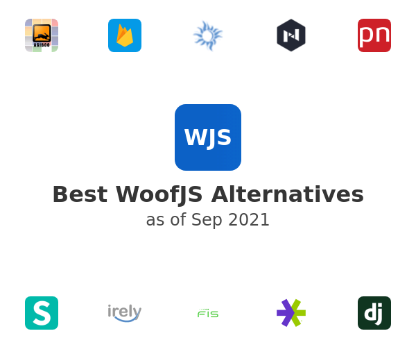 Best WoofJS Alternatives