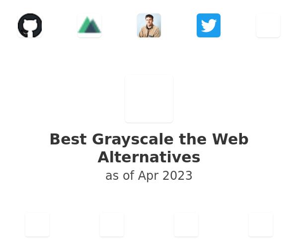 Best Grayscale the Web Alternatives
