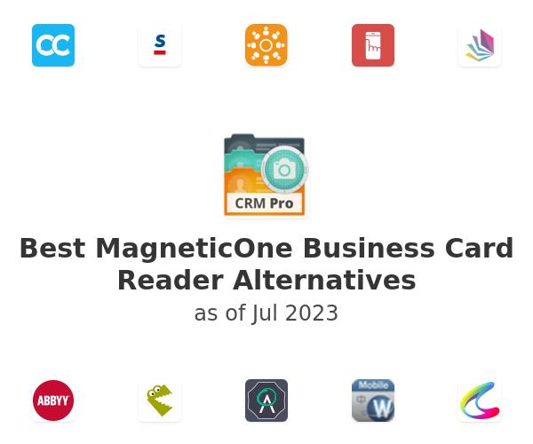 Best MagneticOne Business Card Reader Alternatives