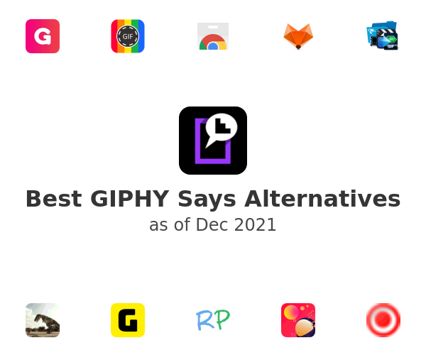 Best GIPHY Says Alternatives