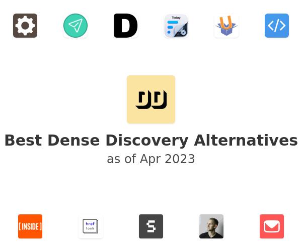 Best Dense Discovery Alternatives
