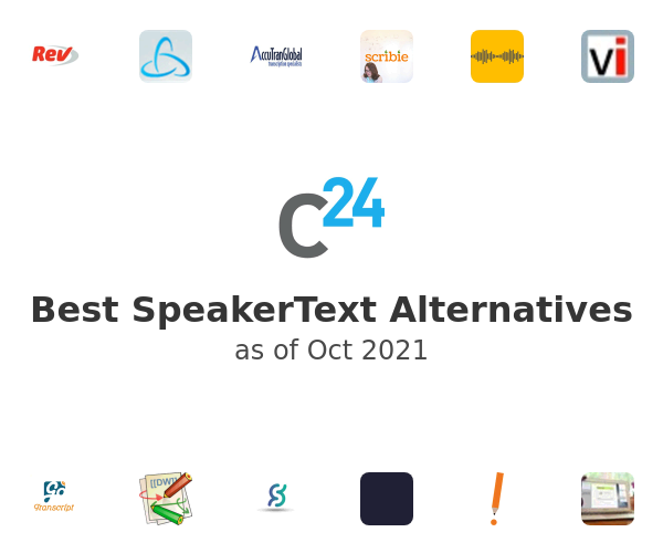 Best SpeakerText Alternatives