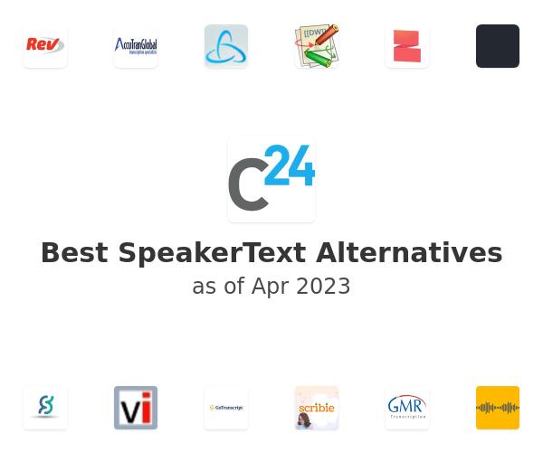 Best SpeakerText Alternatives