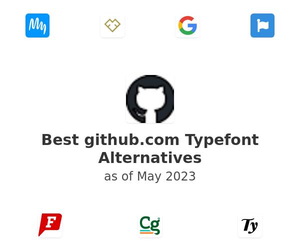 Best Typefont Alternatives