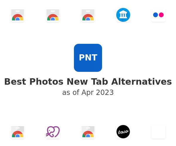 Best Photos New Tab Alternatives