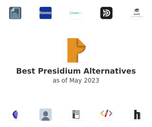 Best Presidium Alternatives