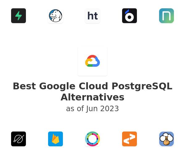 Best Google Cloud PostgreSQL Alternatives