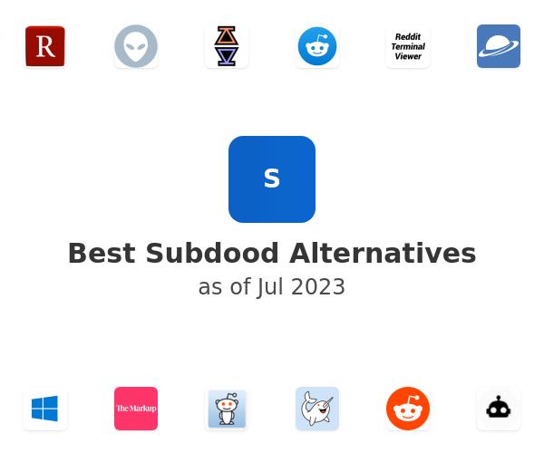 Best Subdood Alternatives