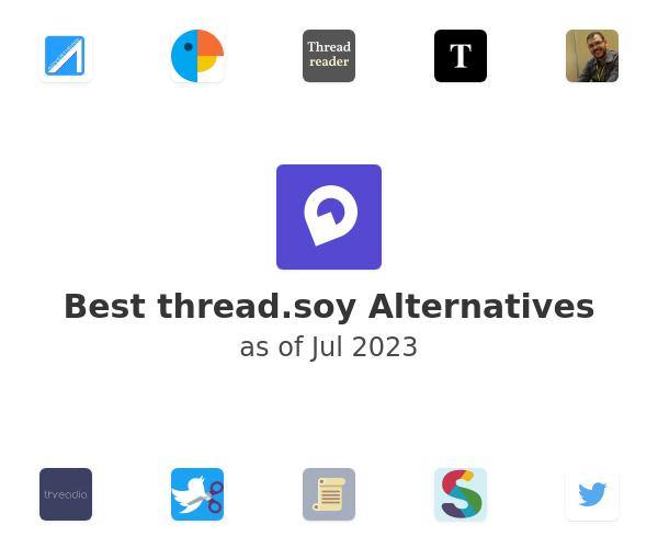 Best thread.soy Alternatives