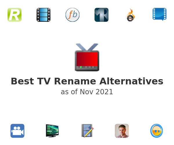 Best TV Rename Alternatives