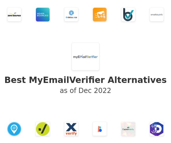 Best MyEmailVerifier Alternatives
