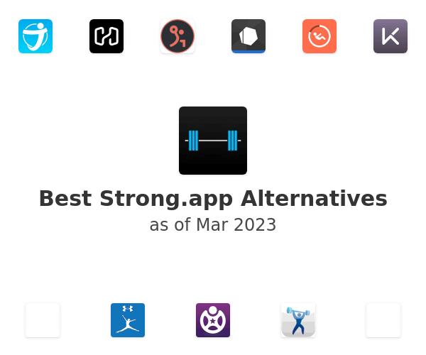Best Strong.app Alternatives