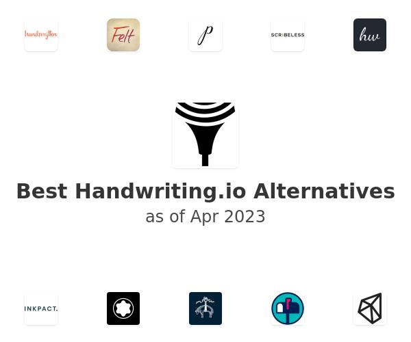 Best Handwriting.io Alternatives