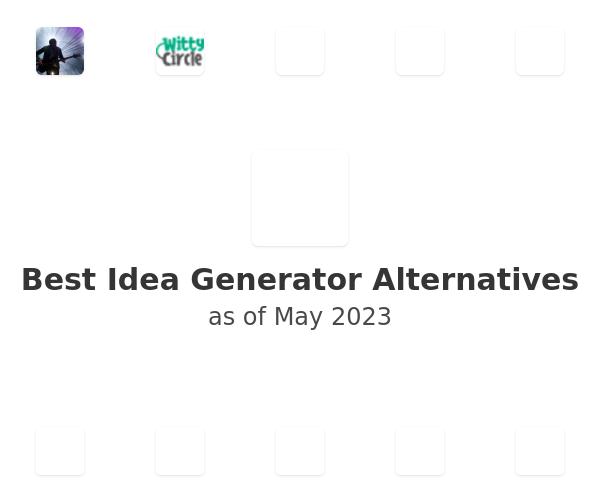 Best Idea Generator Alternatives