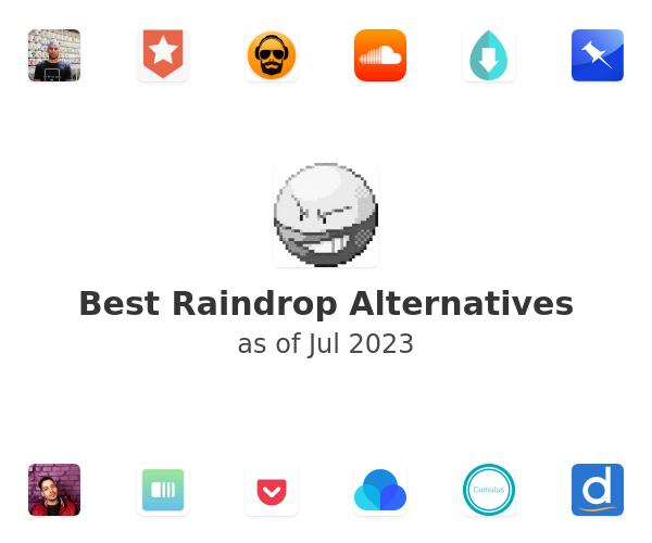 Best Raindrop Alternatives