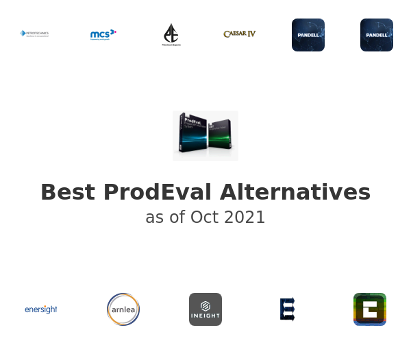 Best ProdEval Alternatives