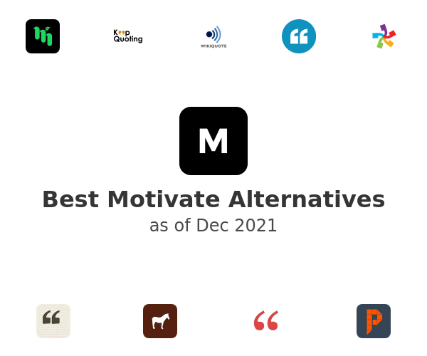 Best Motivate Alternatives