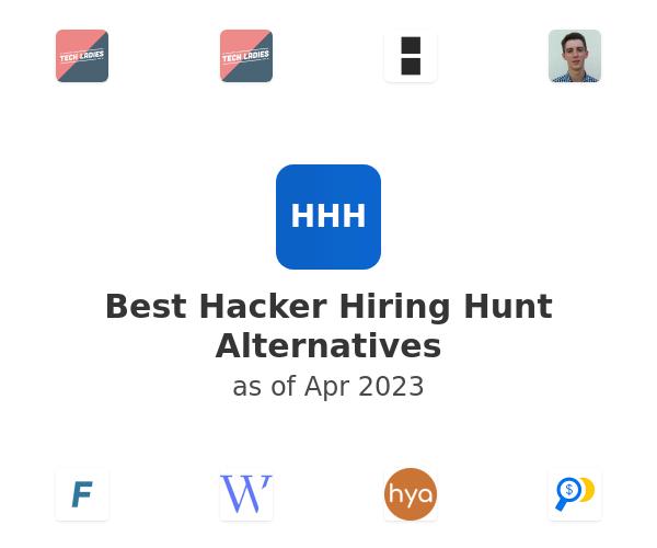 Best Hacker Hiring Hunt Alternatives