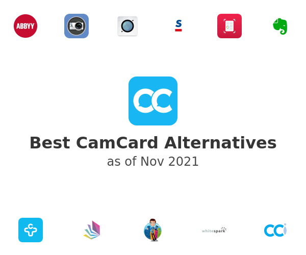 Best CamCard Alternatives