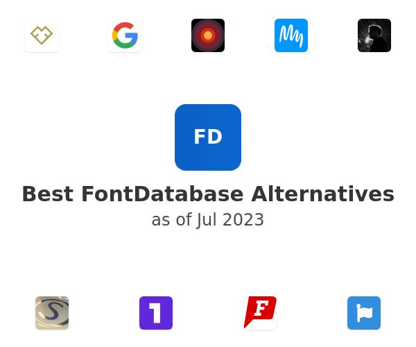 Best FontDatabase Alternatives