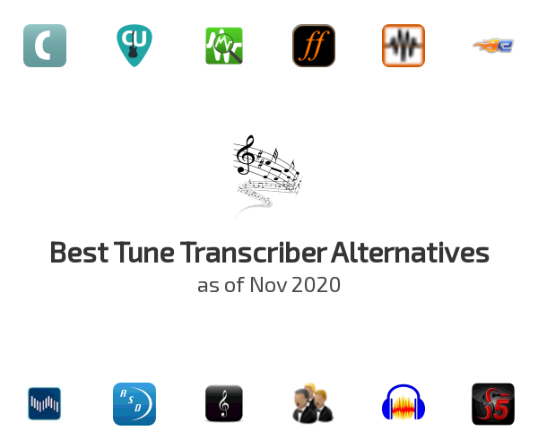 Best Tune Transcriber Alternatives