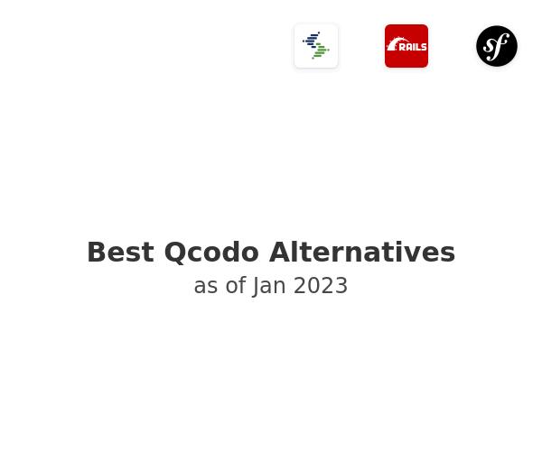 Best Qcodo Alternatives